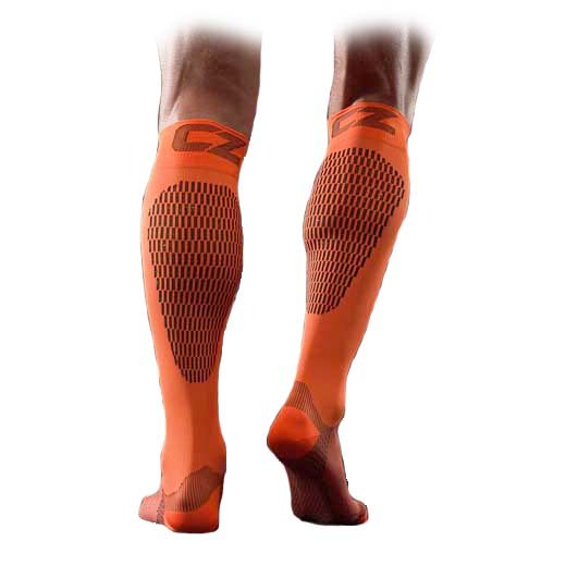 compression zone chaussettes de compression sport orange performance chaussettes de sport. Black Bedroom Furniture Sets. Home Design Ideas