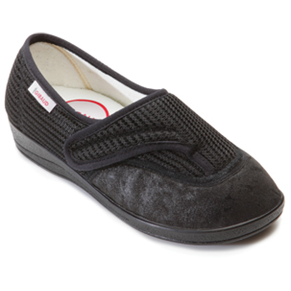 chaussure th rapeutique chut podogib alexandrie noir femme gibaud. Black Bedroom Furniture Sets. Home Design Ideas