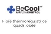 fibre thermorégulatrice