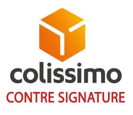 LIVRAISON À DOMICILE CONTRE-SIGNATURE AVEC COLISSIMO À PARTIR DE 7.99€