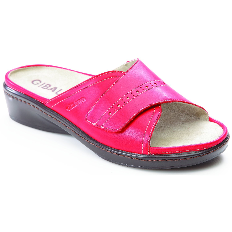 chaussure de confort rimini rouge femme gibaud